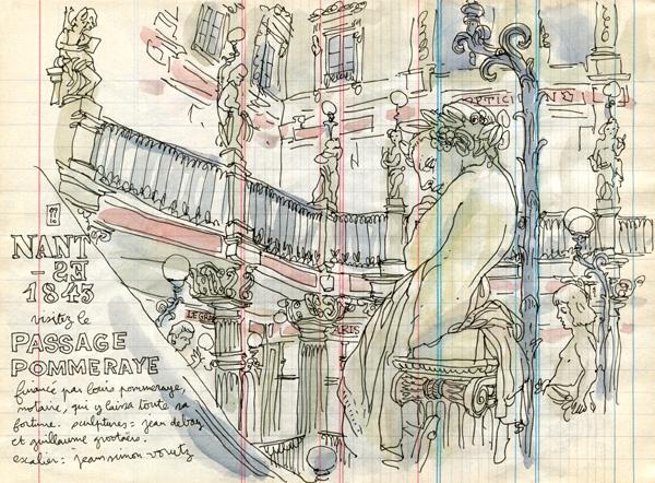 passage pommeraye - nantes