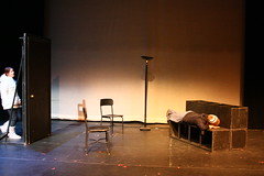 IMG_4937 (Christian Cragun) Tags: black club student theater experimental mask theatre box maine almost relationships vignette produced directed