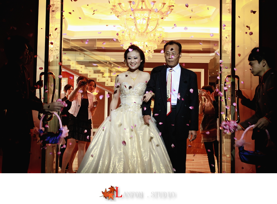 (台中婚禮紀錄)政璟+淑真 文定之喜/台中中橋 婚禮攝影