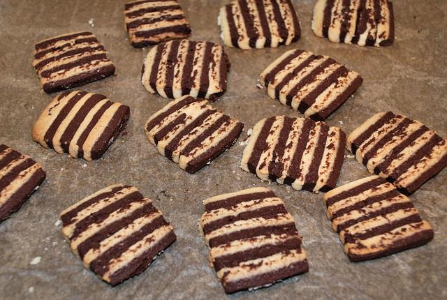 Печенье зебра рецепт с фото пошагово