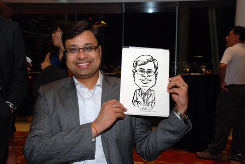 caricature live sketching for 2010 Asia Pacific Tax Symposium and Transfer Pricing Forum (Ernst & Young) - 12