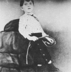 Image of W.C. Dukenfield at five years old.