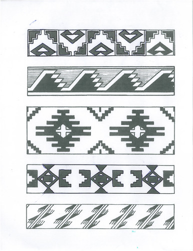 Applique Patterns From Native American Beadwork Designs - Joyce
