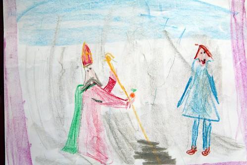 Second Grade Saints: Saint Nicholas