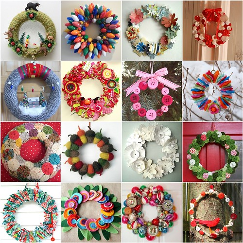 "Flickr inspiration ""wreaths"""