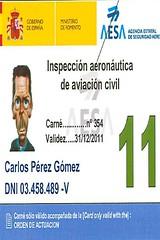 Carnet de Inspección