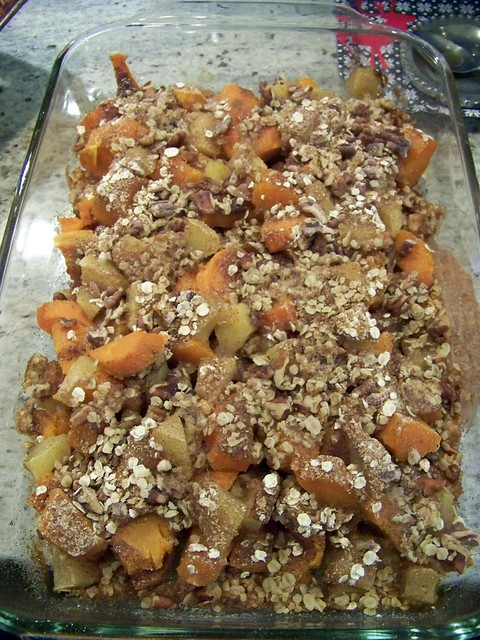 Hi Sugarplum!: {Git in Mah Belly} Sweet Potato & Apple Bake