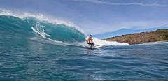 backside (bluewavechris) Tags: ocean sea water hawaii surf action board maui cliffs thebay swell honoluabay honolua