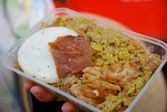 Lechona stuffed pig - Fusa Berbeo Family stall...