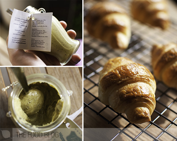 Bronte Pistachio Paste Croissants