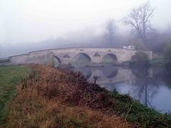 Foggy Morning at Milton Ferry (saxonfenken) Tags: bridge mist reflection fog river nene bigmomma gamewinner 6972 challengeyou challengeyouwinner miltonferry friendlychallenges thechallengefactory herowinner dec9th500 pregamesweepwinner pregameduelwinner 6972bridge