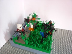 Battle for the ruins 16x16 (size) (Band Of Bricks) Tags: star lego contest wars clone
