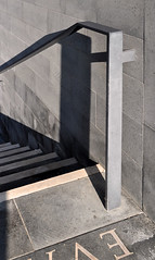 San Michele Cemetery Extension - Venice (David Chipperfield) (Burin YILDIRIM) Tags: venice shadow italy building cemetery grave architecture modern stairs death europe stair italia graves christian extension venezia modernarchitecture balustrade sanmichele davidchipperfield