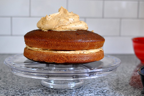 Coffee Cake with Coffee Frosting