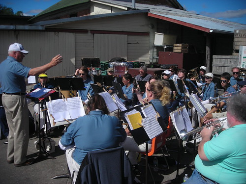 Manchester Civic Band at Doud's Apple Orchard 2010