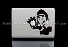Super Mario MacBook Laptop Skin Sticker Decal