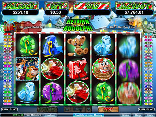 Return of the Rudolph slot game online review