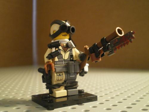 Custom minifig Weird war II