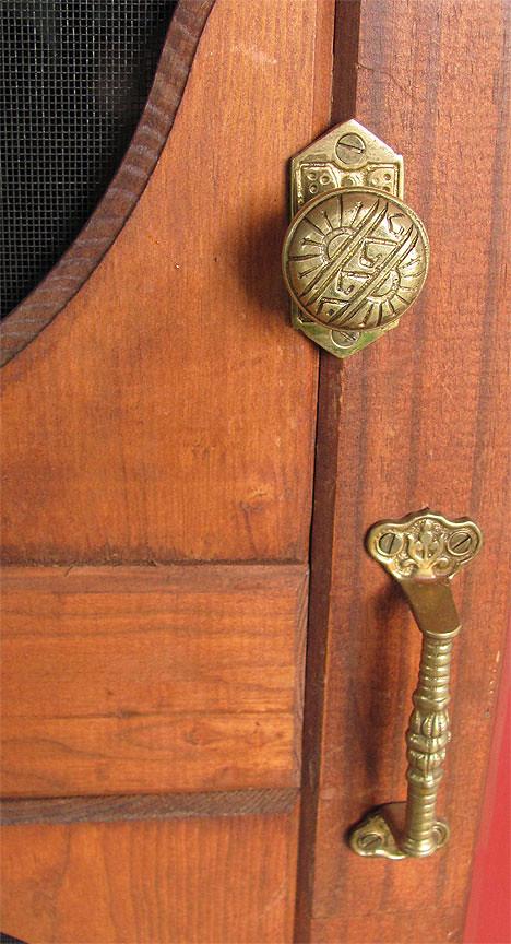 Decorative Victorian Screen Door Hardware (House Of Antique Hardware) Tags:  Door Vintage Project