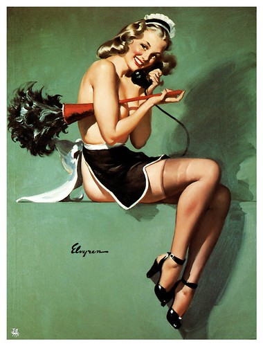 016--Gil Elvgren-sin fecha- via Imagenetion-Virtual Pin-ups Art Gallery