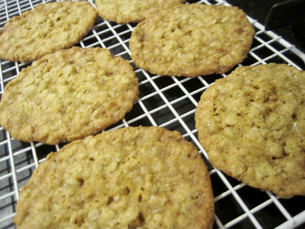 Oatmeal Cookies for Dinner on the Coldest Day in Burque History