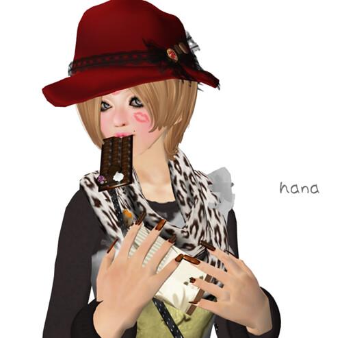 Candy Nail #VD2011 CHOCO Milk