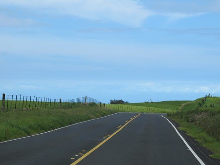 Road to Hawi on the Big Island
