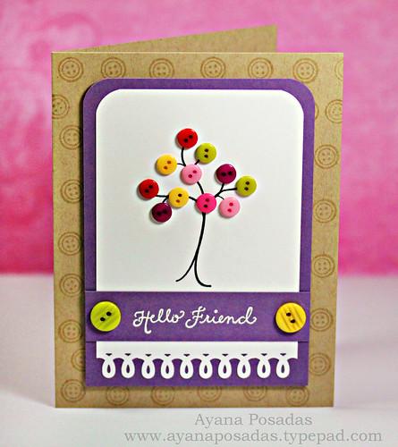 Mini Button Tree (3)