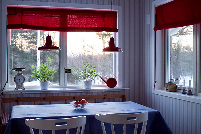 The kitchen in our summer house
