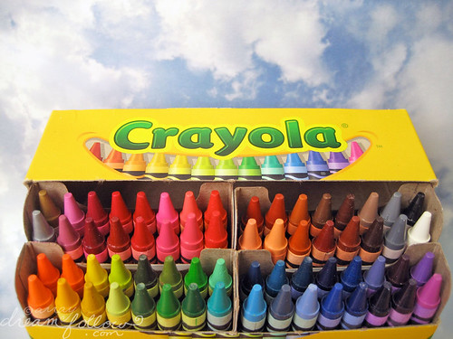 a new box of crayons