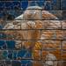 Mesopotamian lion (detail) on Processional Way of Babylon, Pergamon Museum, Berlin