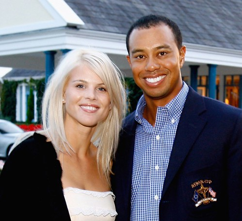 Photo: Elin Nordegren and Tiger Woods are divorced