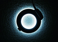 Ring of Light (torode) Tags: blue light white macro texture wall glow sony flash ring ringoflight sigma1020 explored hvlrla bentorode benjamintorode