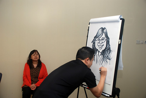 Caricature Workshop for AIA Robinson - Day 2 - 10