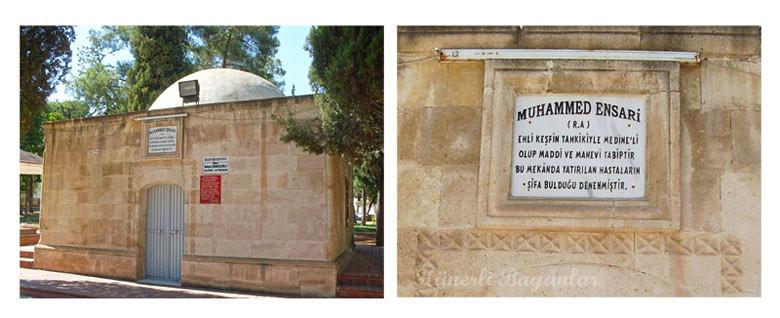 Hz.Muhammed Ensari'nin Türbesi