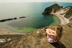 Camping_Dorset49 (jjay69) Tags: uk camping summer vacation england cliff holiday english beach bay coast dangerous rocks shore dorset coastline summertime purbeck lulworth britishsummer manofwarbay welcomeuk 'coastuk'