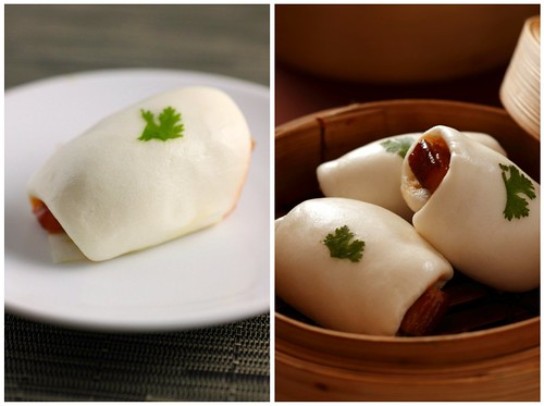 Pork Buns Collage