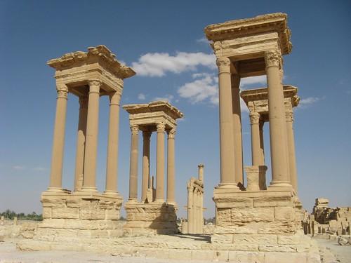 Ruinas de Palmira, Síria