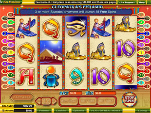 Cleopatra's Pyramid slot game online review