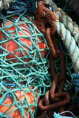 Fishing Floats, Mallaig (Tom Willett) Tags: scotland boat highlands fishing ship harbour fishingboat mallaig westhighlands buoyant smallisles