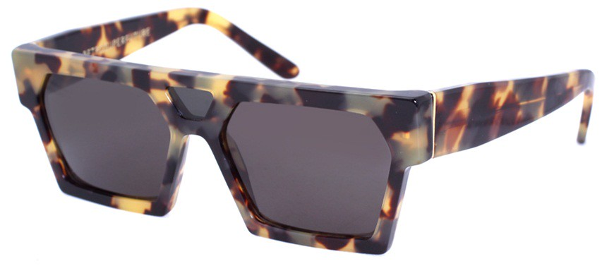 RetroSuperFuture Summer Safari Rectangle Flat Top Sunglasses