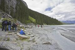 Lake Louise (rick.gilbert) Tags: canada mountains hiking ab can hike alberta glaciers lakelouise banffnationalpark plainofthesixglaciers moraineslopes