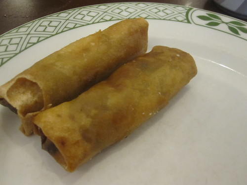 spring rolls at PM