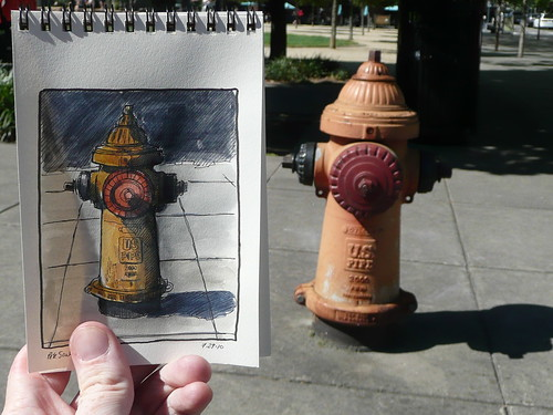 a portland fire hydrant