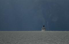 one ship, one fjord ;-) (crazyhorse_mk) Tags: mountain nature water norway canon landscape norge ship cruiseship sognefjord leikanger sognogfjordane eos400d