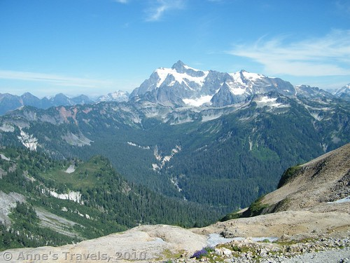 Mt Shuksan from the Ptarmigan Ridge Trail, Mount Baker-Snoqualmie National Forest, Washington