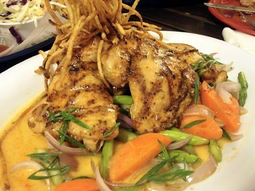 Bubba Gump Shrimp Co - cajun chicken
