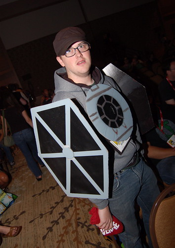 Comic Con 2010: Tie Fighter Costume