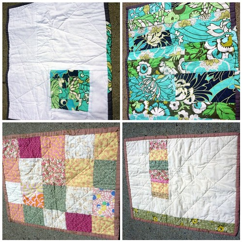 A few doll quilts for craft sale