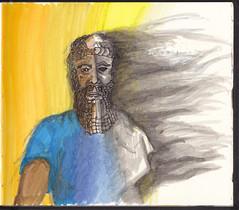 Immortality is folly (Jim_V) Tags: doodle gilgamesh